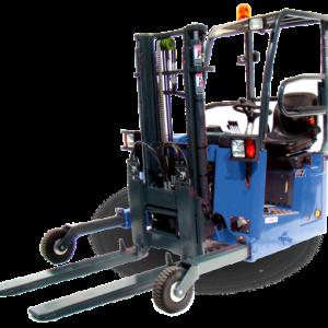 Princeton PiggyBack® PB36 deliver truck